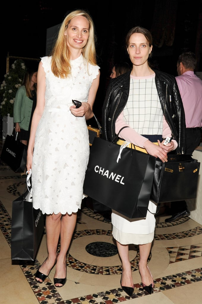 Lauren Santo Domingo and Vanessa Traina at New York Presbyterian's Spring Luncheon with Chanel. Source: Neil Rasmus/BFAnyc.com