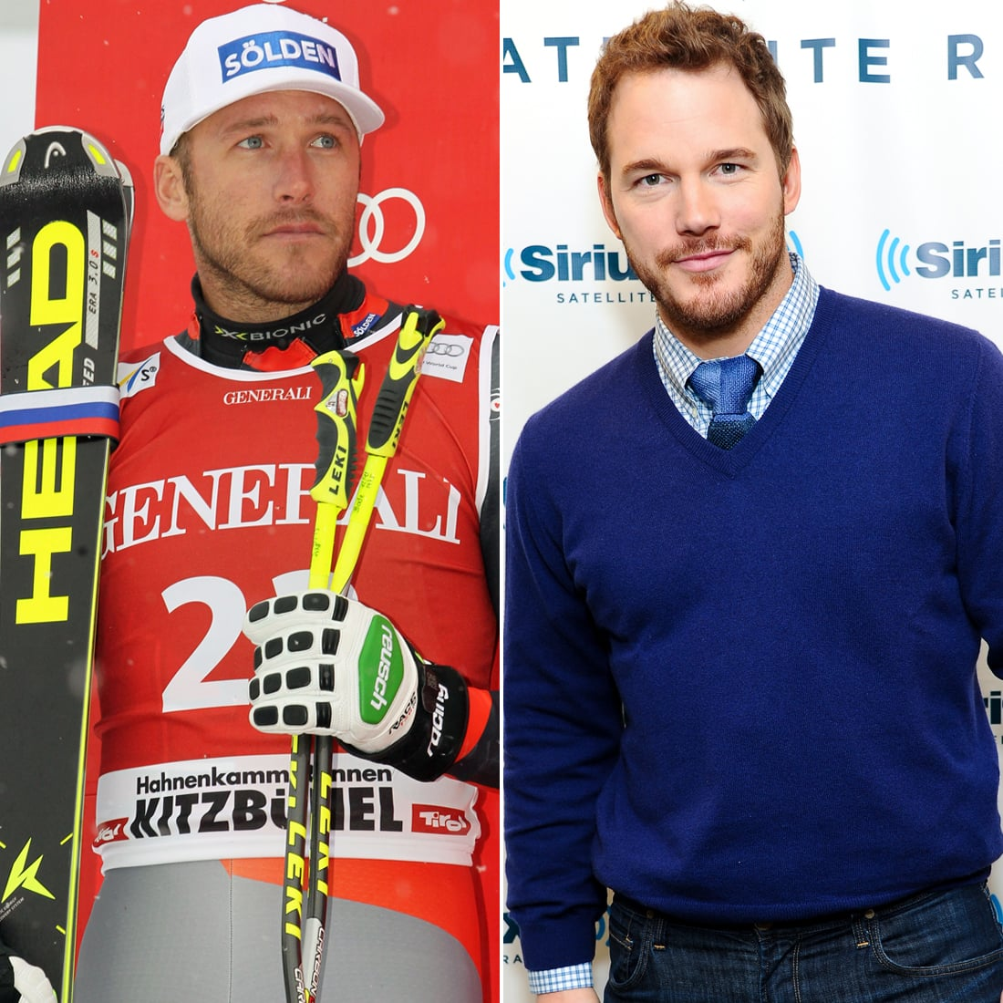 Bode Miller Played by Chris Pratt