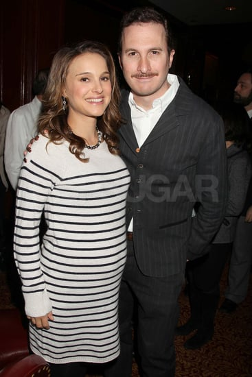 Pictures of Natalie Portman and Darren Aronofsky at Black Swan Lunch