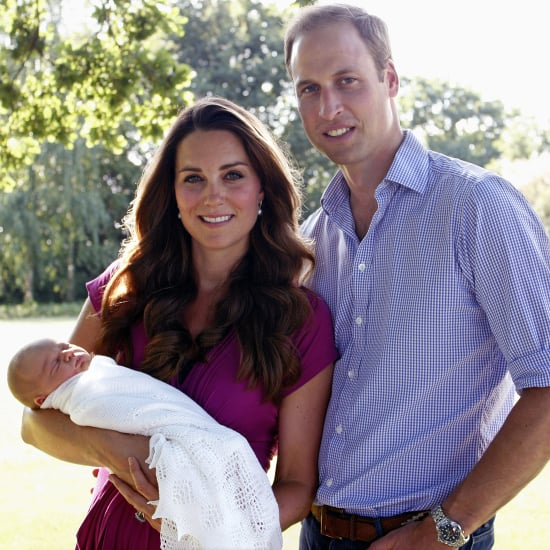 Kate Middleton's Maternity Designer on Prince George Picture