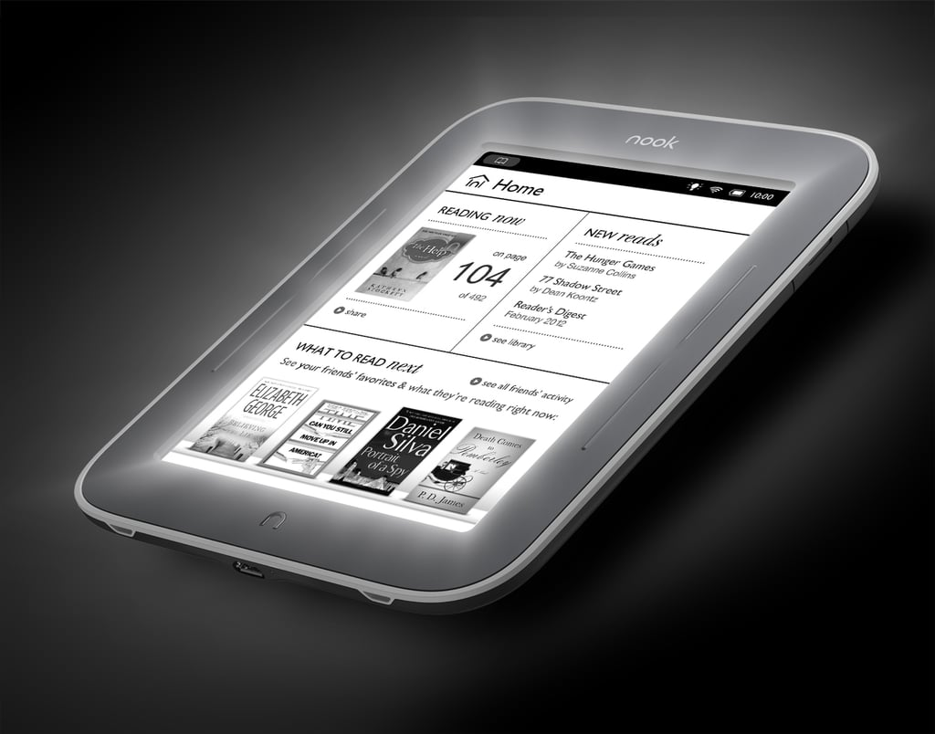Nook Simple Touch With GlowLight ($139)