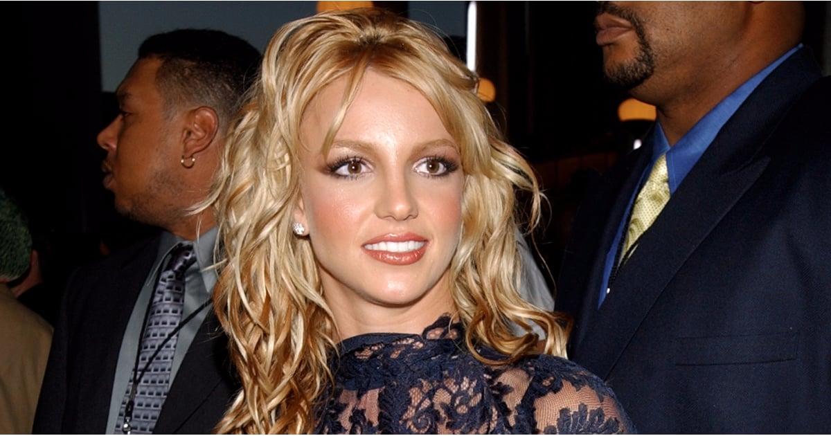 Black Lace Dress Britney Spears 9