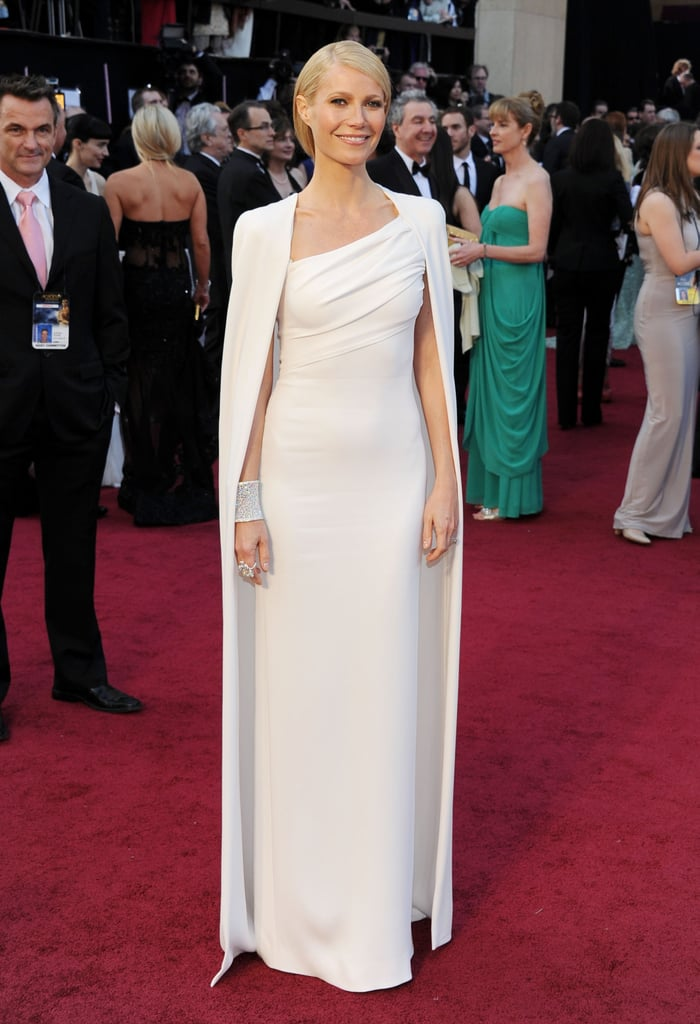 I didn't think it was possible to love Gwyneth Paltrow any more than I already did until her dramatic entrance at the Academy Awards in a stark white Tom Ford gown and cape in February. The look was so unexpected and completely glamorous; she — and one very famous leg — stole the Oscars show this year.  — Lauren Turner, associate editor