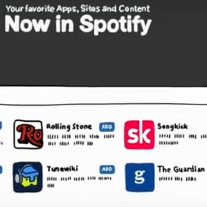 Spotify Music Apps Now Available