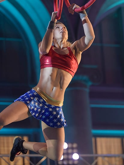 WATCH: American Ninja Warrior Star Jessie Graff Is the First Woman to Make It up the Warped Wall - Ever!