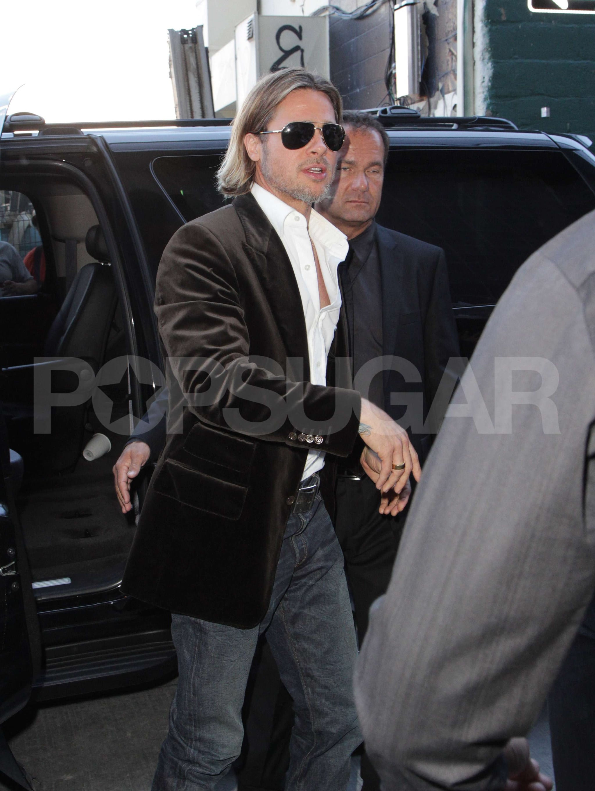 Brad Pitt is looking good at the Toronto Film Festival.