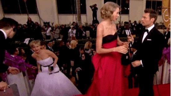 Jennifer Lawrence Was Up to Her Old Tricks