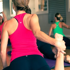 Do You Prefer Being in the Back Row of an Exercise Class?