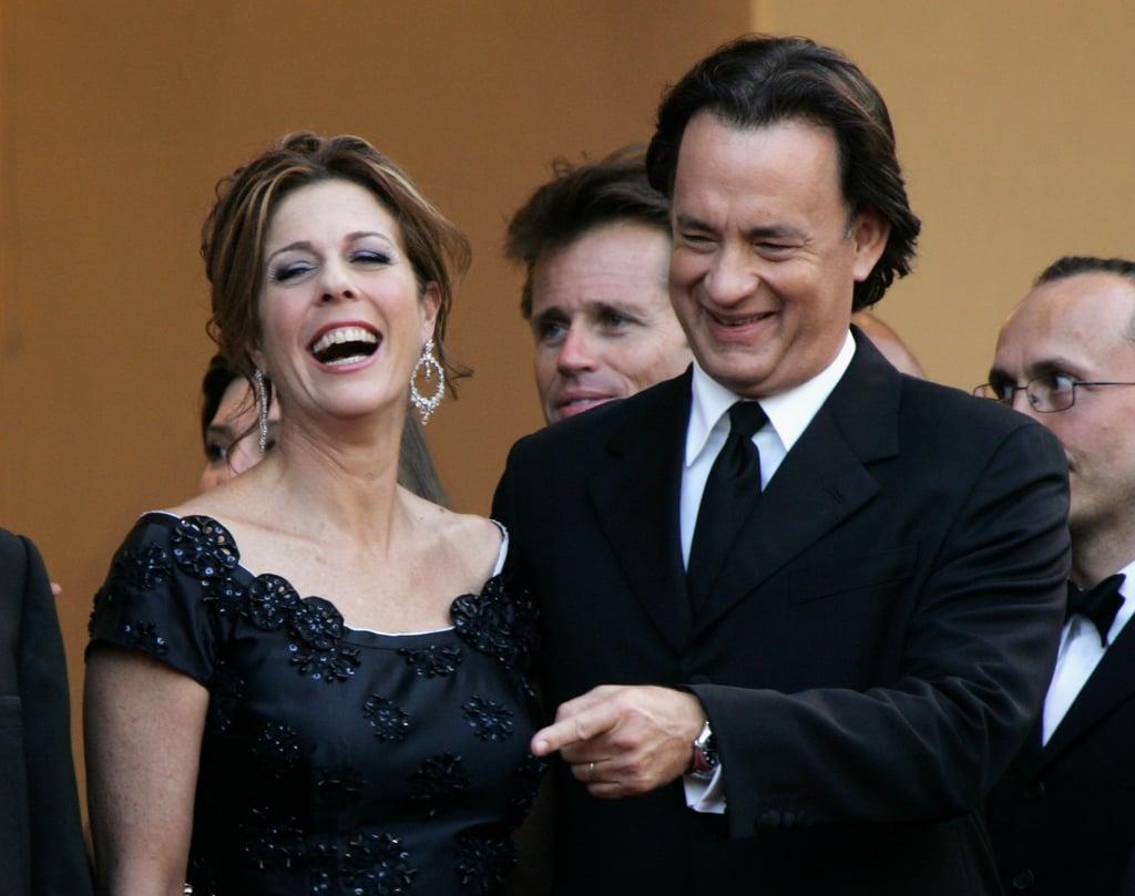 Rita Wilson and Tom Hanks in 2006