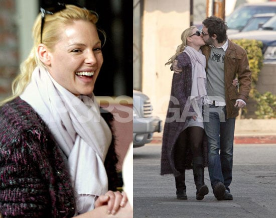 Katherine Heigl's Healthy/Very Not Healthy Lunch