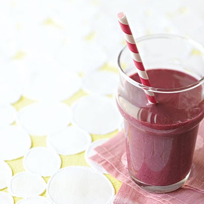 Cooking Light's Blackberry-Mango Breakfast Shake