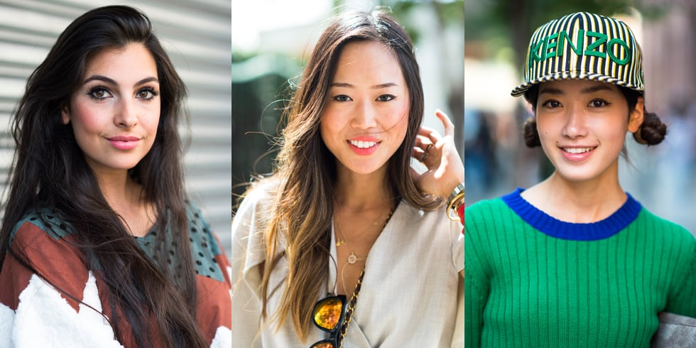 Nab Beauty Inspiration From the Streets of Fashion Weeks Past