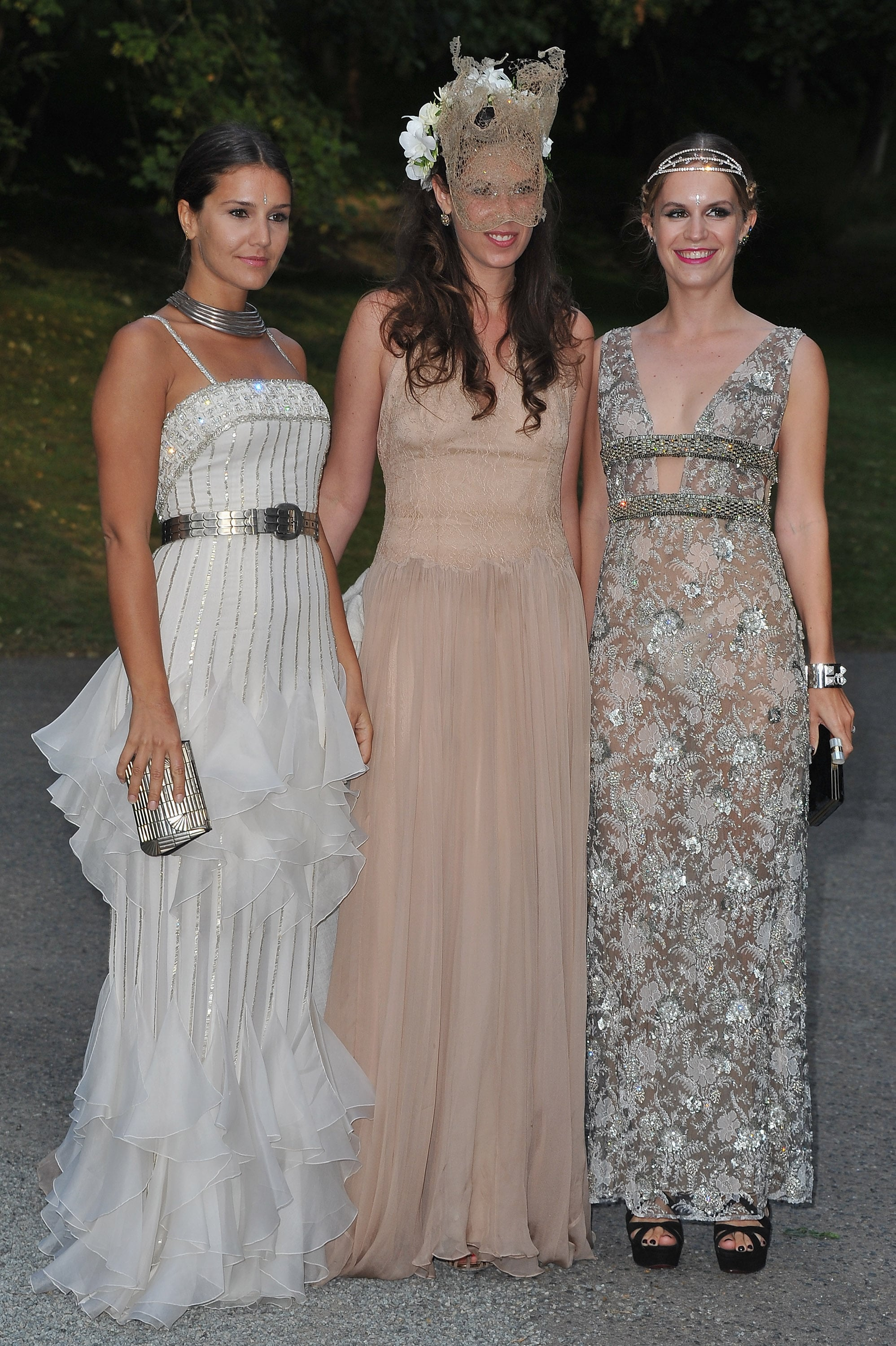 Margherita Missoni, Tatiana Santo Domingo and Eugenie Niarchos frock up for the grand event.