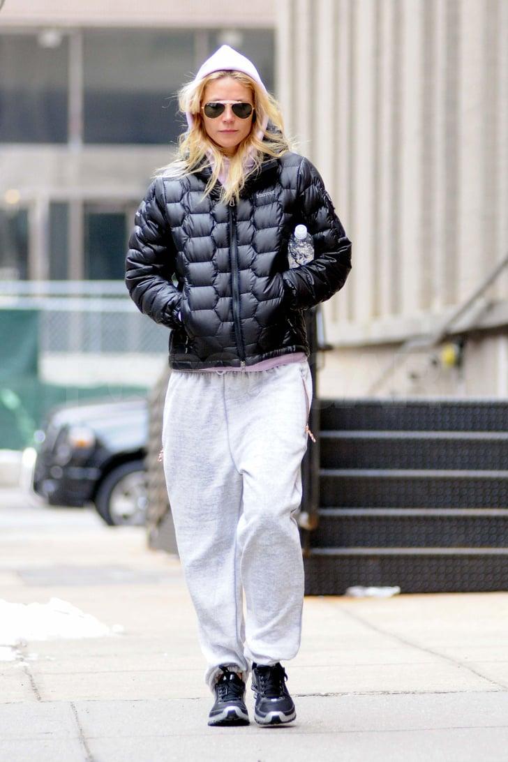 Gwyneth Paltrow Breaks a Sweat Ahead of Her Oscars Performance