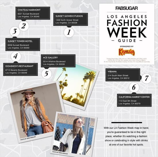 LA Fashion Week Guide Sponsored by Kahlua
