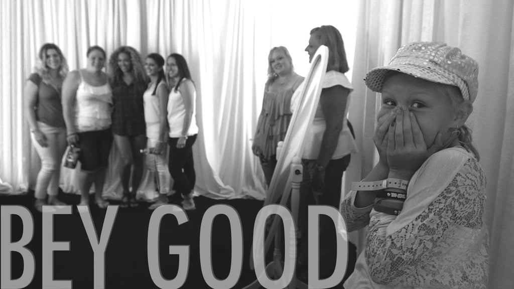 And Shared Touching Footage From Her Bey Good Campaign