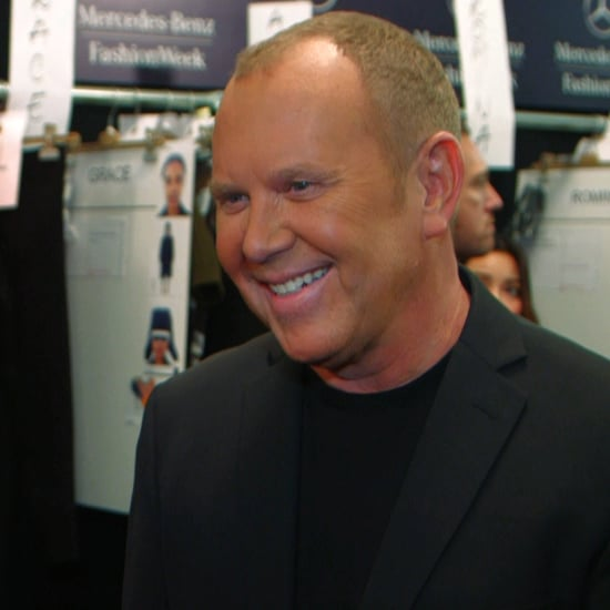 Michael Kors Interview at New York Fashion Week Fall 2013