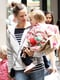 Jennifer Garner and Her Girls Go Back to School in NYC
