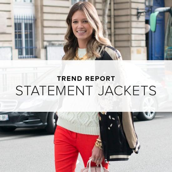 Spring 2014 Statement Jacket Trend   Shopping