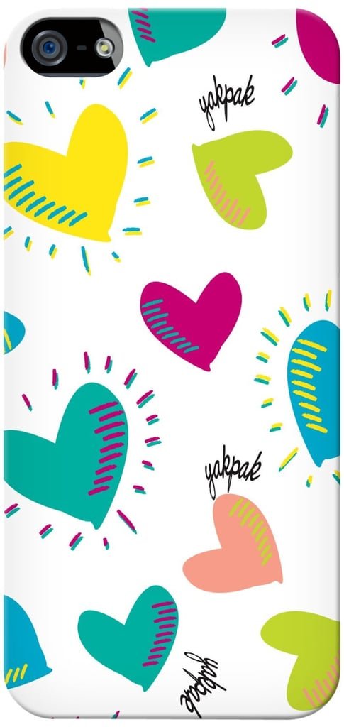 Bright hearts iPhone case ($10)