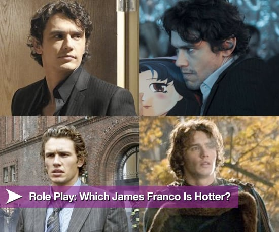 James Franco Roles