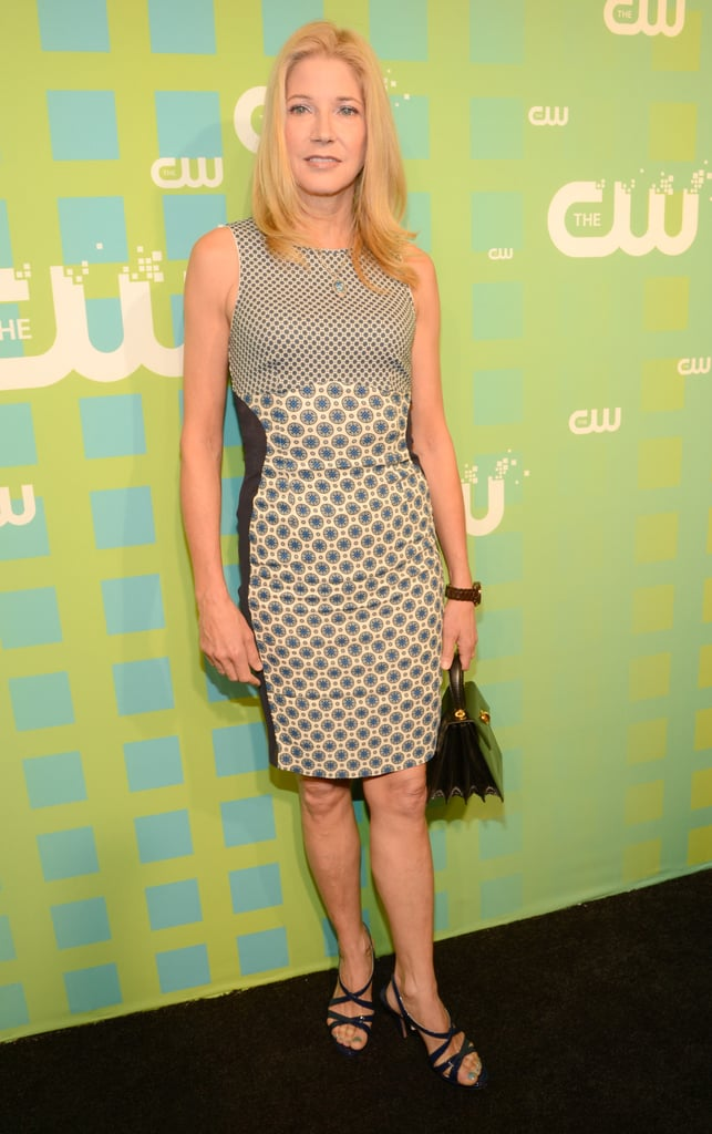 Sex and the City author Candace Bushnell was at the CW presentation to chat about her new series, The Carrie Diaries.