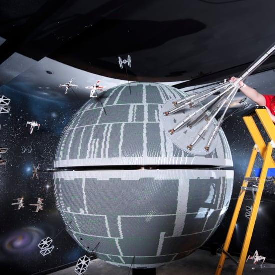 Legoland Makes Death Star Replica