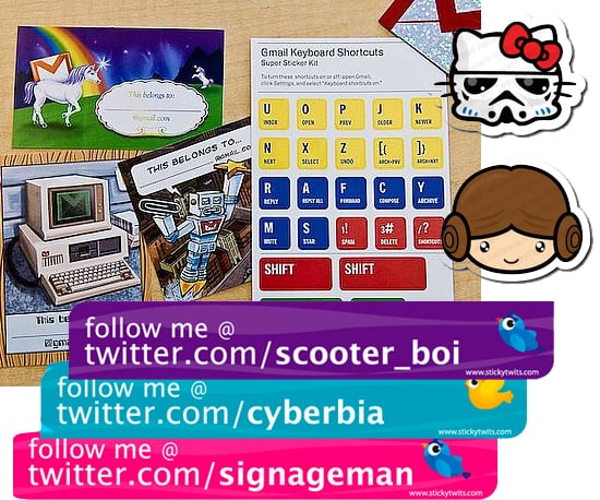 Geeky Stickers Roundup