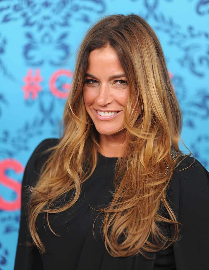 Kelly Bensimon attended the premiere of HBO's Girls in NYC.