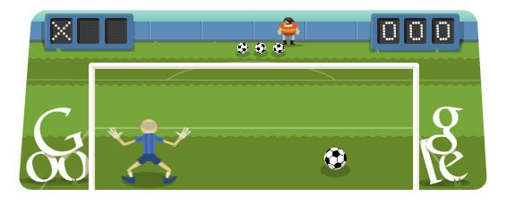 2012 London Summer Olympics — Interactive Soccer Game