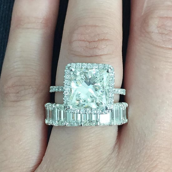 Princess-Cut Engagement Rings