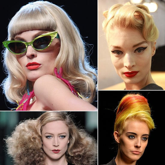 Retro Runway: The Best Vintage-Inspired Beauty Looks From Catwalks Past