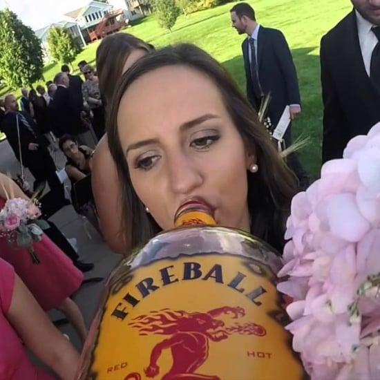 GoPro Liquor Bottle Wedding Video