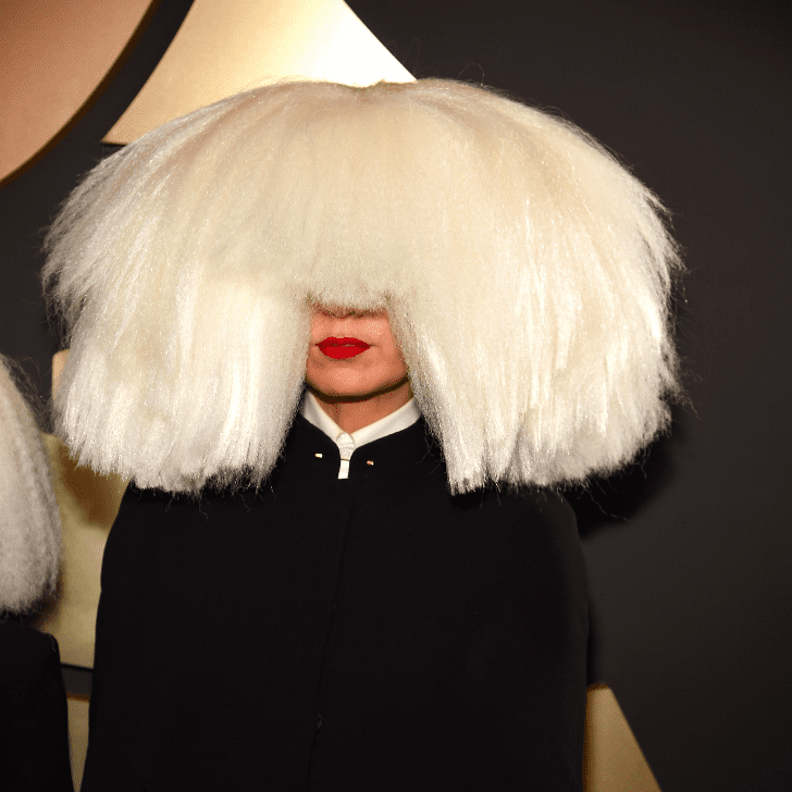 Sia S Hair At The Grammy Awards 2015 Popsugar Beauty