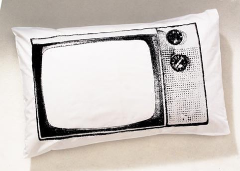 TV Pillowcase For Boob Tube Addicts