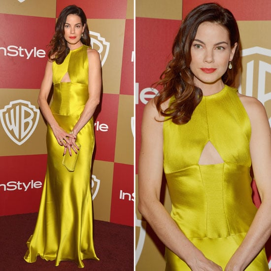 Michelle Monaghan Golden Globes Party Fashion 2013