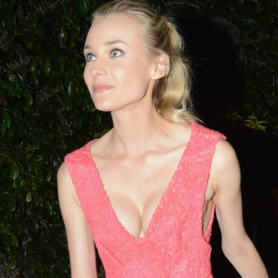 Coral Dresses at the Calvin Klein Women in Film Party