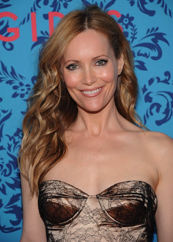 Leslie Mann accompanied husband Judd Apatow to the premiere of HBO's Girls in NYC.