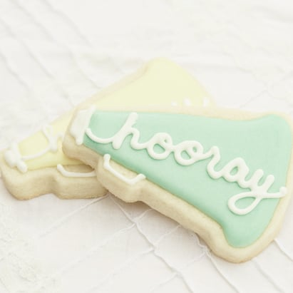 Hooray For Baby Shower in Shades of Mint and Yellow