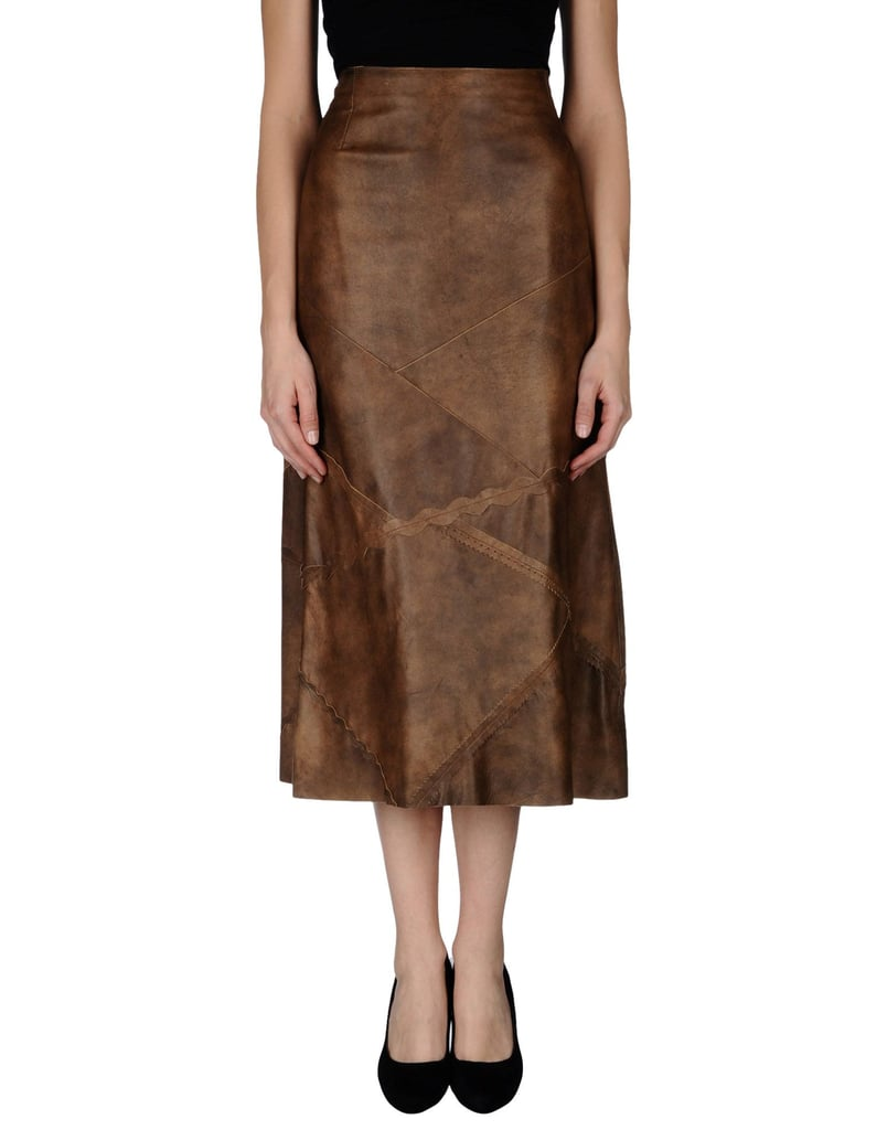 Mariella Burani 3/4 Length Skirt