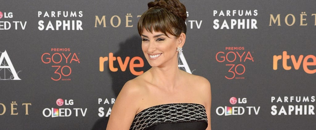 You're About to Do a Double Take at Penélope Cruz in Strapless Sparkles