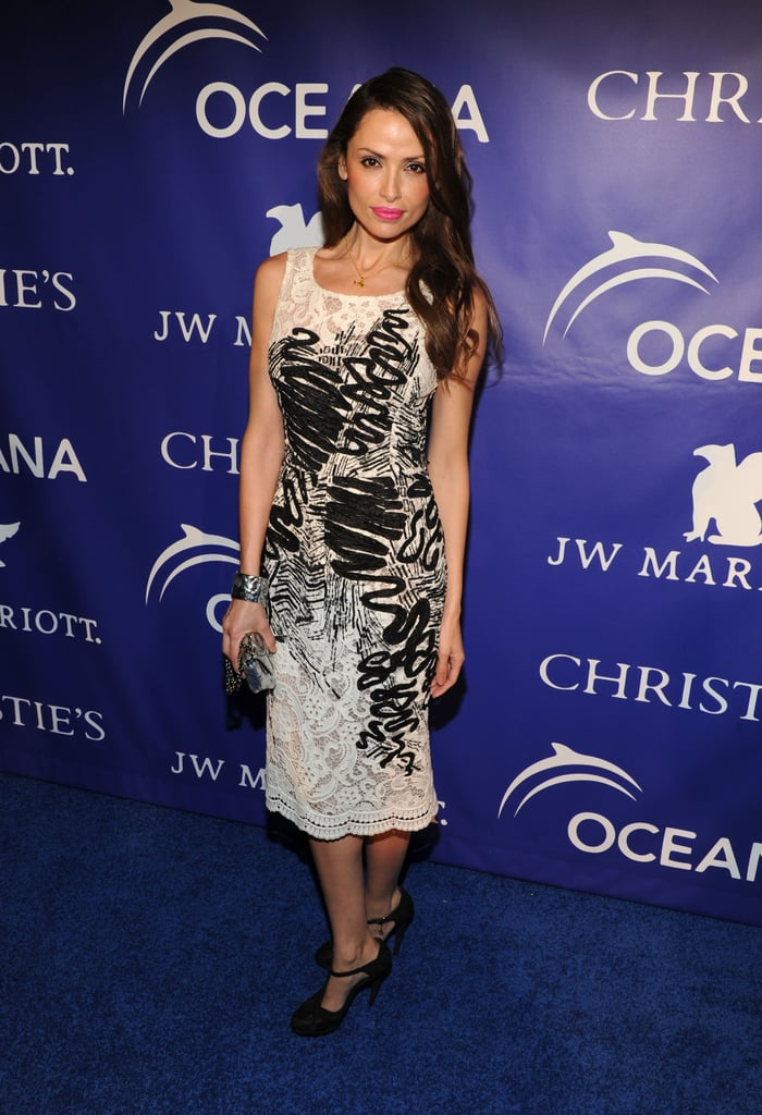 Almudena Fernández at the inaugural Ocean Ball in New York.