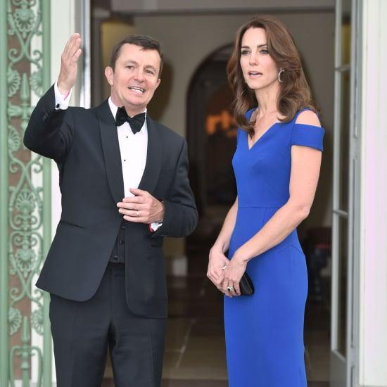 Kate Middleton's Blue Roland Mouret Dress | June 2016