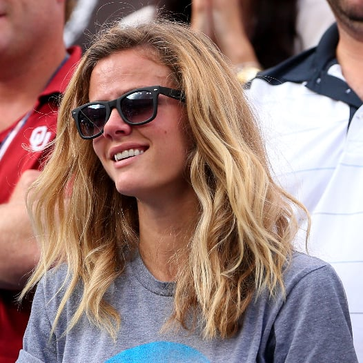 Brooklyn Decker Andy Roddick Crying US Open Loss