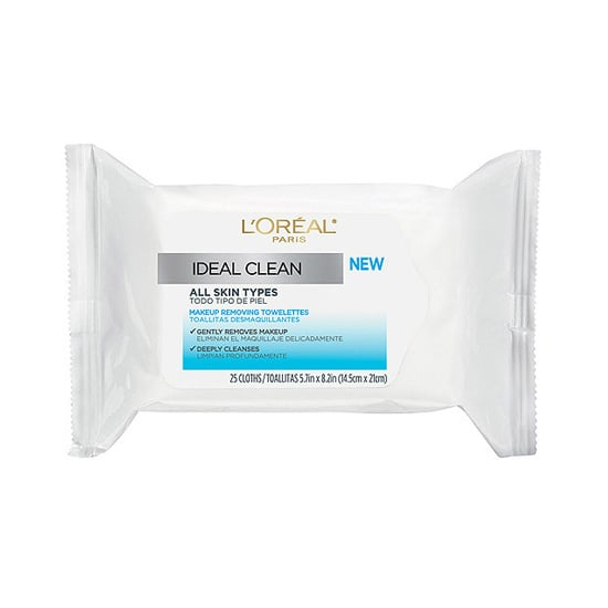 I am always skeptical that face wipes will actually get my skin clean, but I swear I woke up with my skin looking better than it did the day before when I used the L'Oréal Paris Ideal Clean Towelettes ($5) for the first time. A toner sweep after use confirms that all makeup really had been removed. What more proof can you ask for? — Melissa Liebling-Goldberg