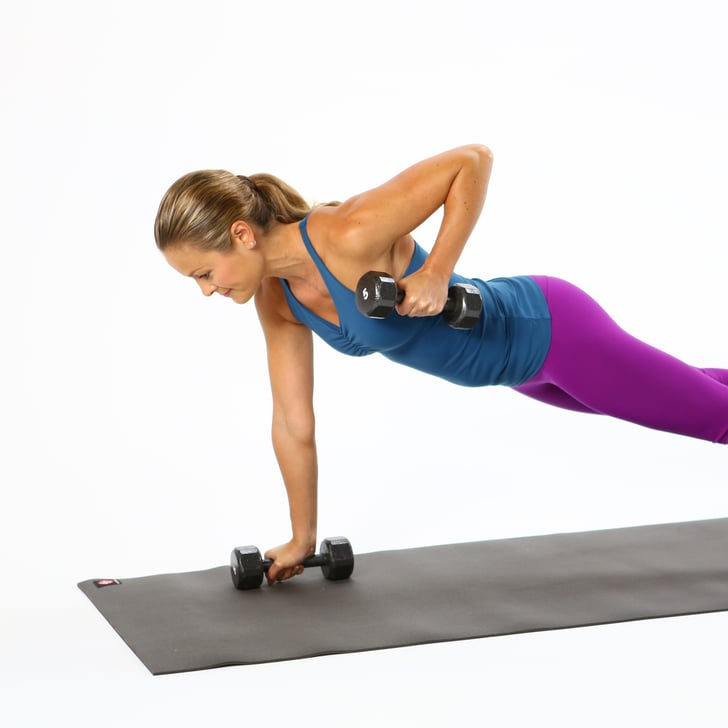 Free Weights Exercises: Plank Exercise With Free Weights