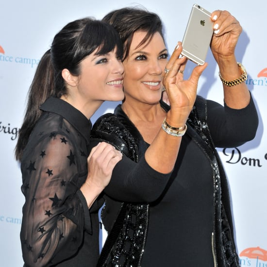 Kris Jenner and Selma Blair on Red Carpet   Pictures