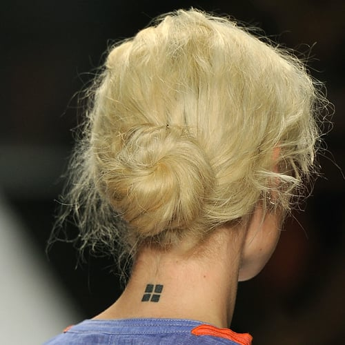 The Swirly Buns at Vivienne Tam