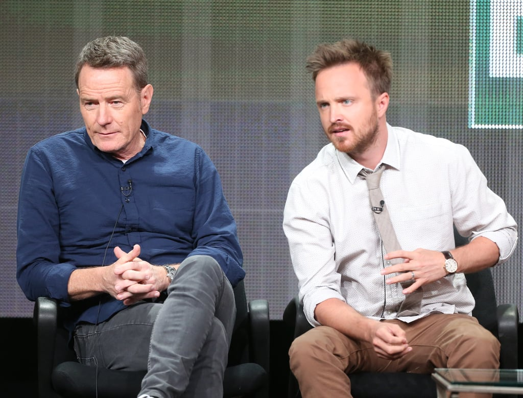 Aaron Paul and Bryan Cranston participated in a discussion regarding Breaking Bad's final season.