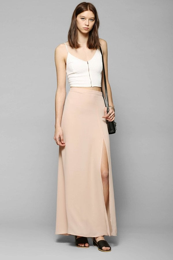 Urban Outfitters Slit Maxi Skirt
